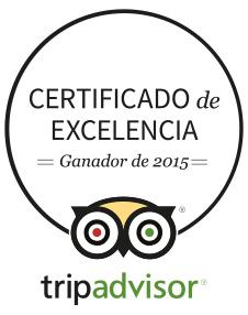 certif excelencia tripadvisor 2015